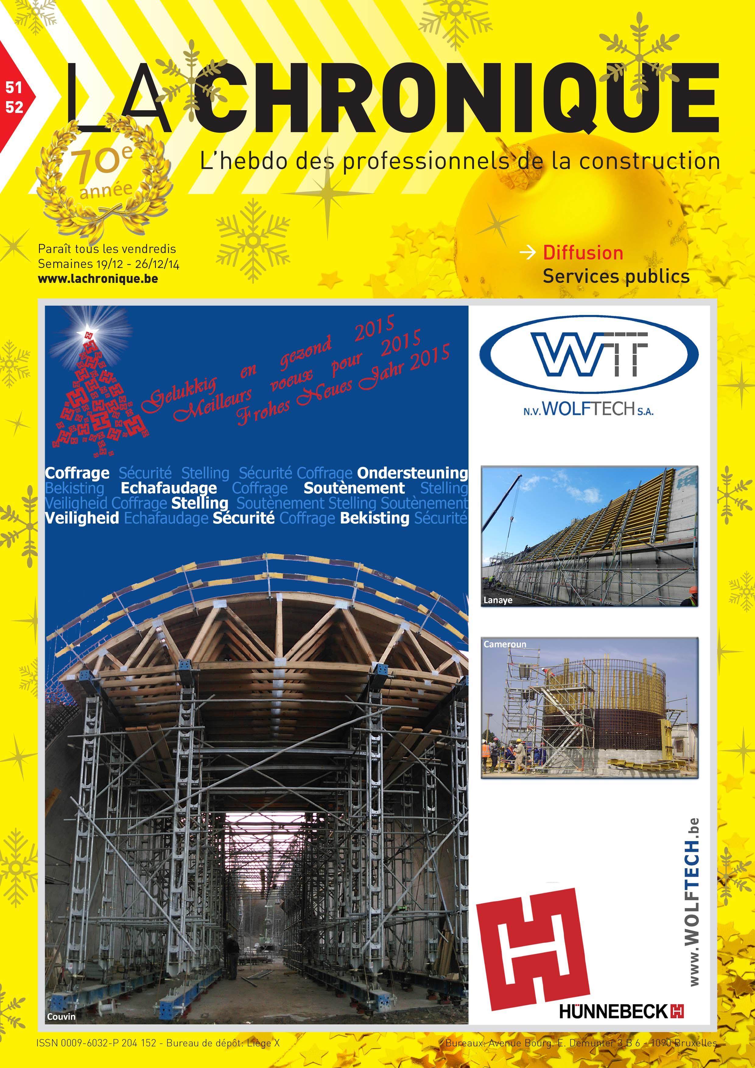 La Chronique n°10 - Mars 2014